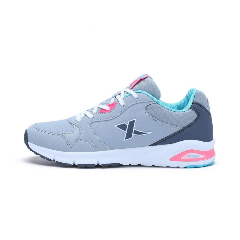 特步 专柜款 女子秋季休闲鞋 17新品舒适百搭 女鞋983318326208