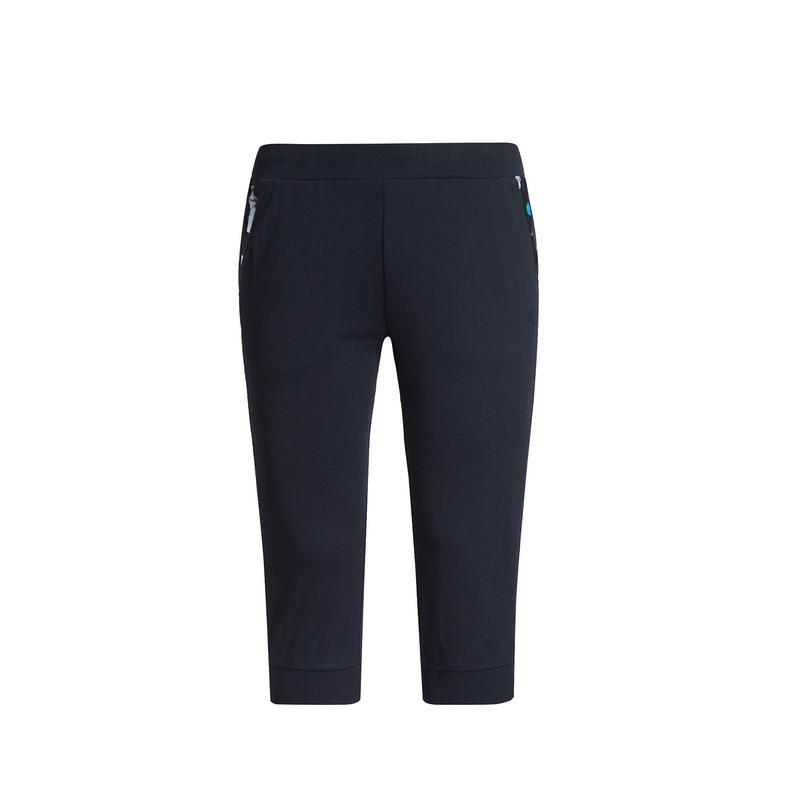 特步 专柜 女子七分裤 17新品运动休闲舒适 女子针织七分裤983228620226