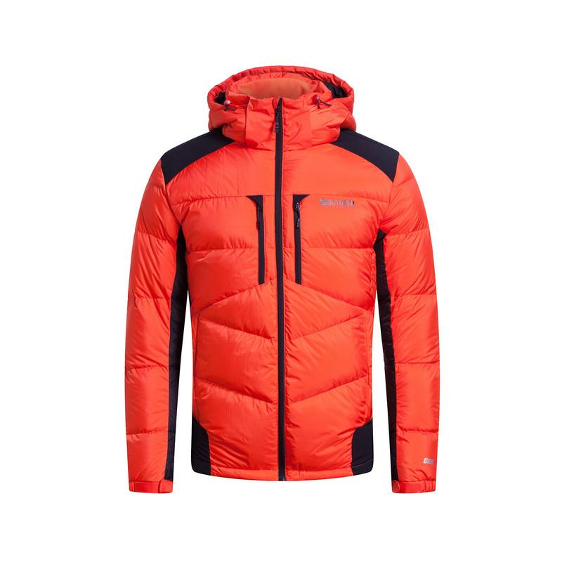特步 专柜款   冬季男子羽绒服 新品连帽保暖棉服时尚运动百搭防风男子外套984429190474