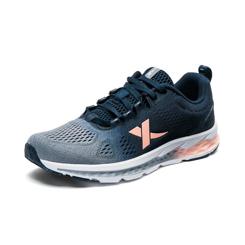特步 专柜款 女鞋运动鞋休闲鞋夏季新款正品网面透气轻便慢跑跑步鞋旅游鞋 982318110067