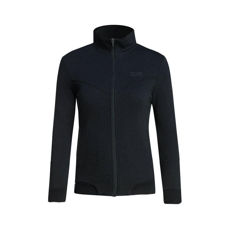 特步 专柜款 女子秋季针织衫 19新品综训健身运动外套983328061328