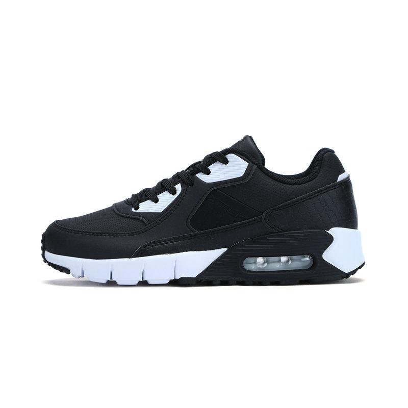 特步 专柜款 女子冬季休闲鞋 气能环柔软垫休闲鞋983418326196