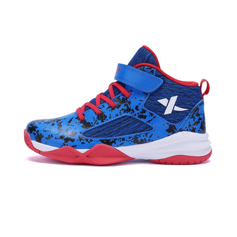 特步 专柜款 男童春季篮球鞋 学生运动鞋682115125125