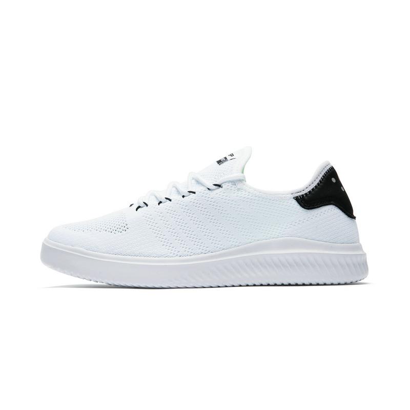 特步 专柜款 男子夏季板鞋 网面透气男鞋982219315962