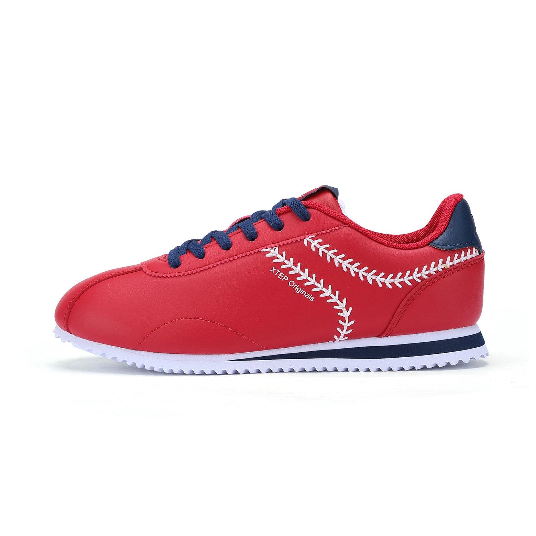 特步 专柜款    女板鞋 π鞋 简约百搭小白鞋板鞋983118315590