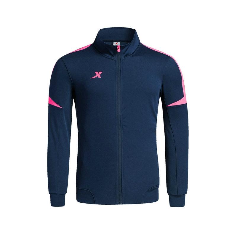 特步 专柜 男子秋季足球运动外套 新品足球训练比赛运动服983329340304