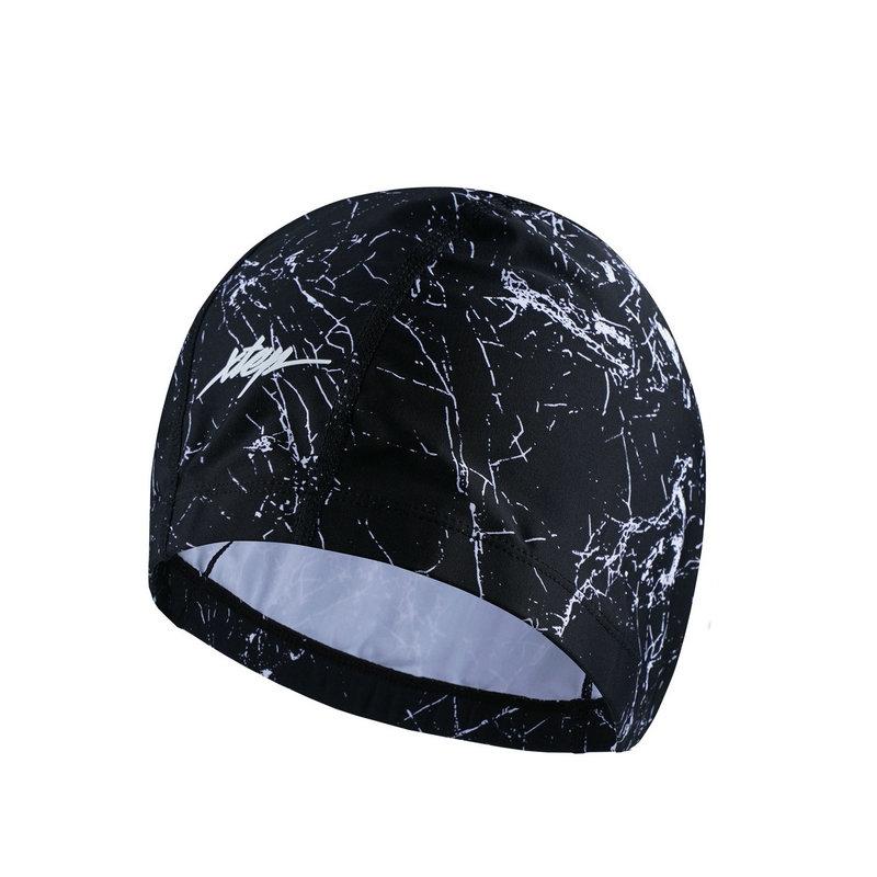 特步 男子泳帽 17新品游泳装备配件 男子泳帽883339839101