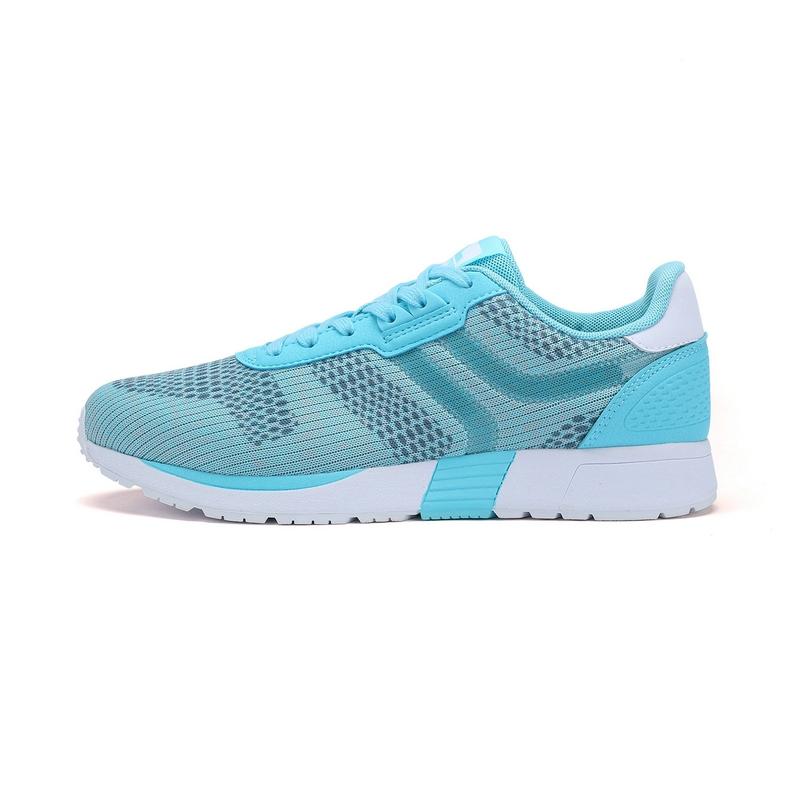 特步 专柜款 女子夏季休闲鞋 网面透气轻便 百搭女子运动鞋983218326132