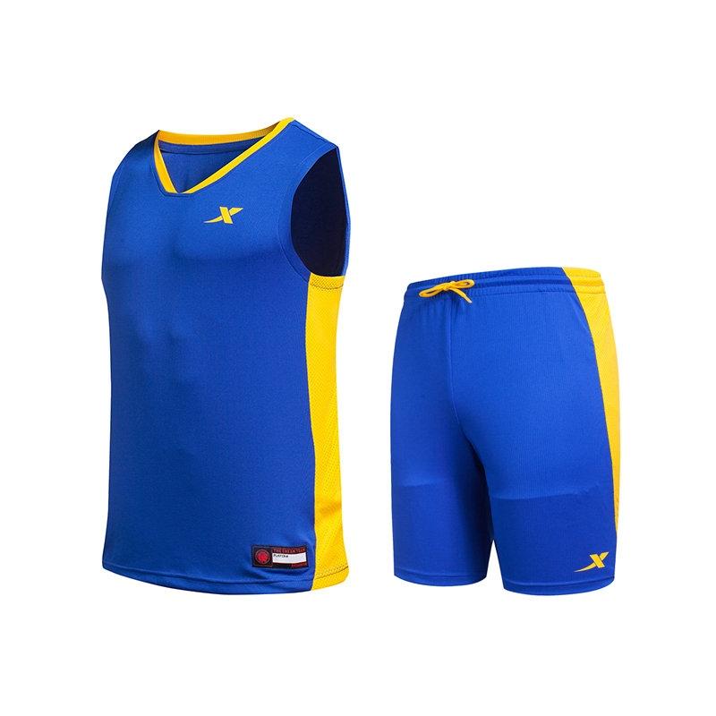 特步 专柜款 男子夏季篮球套装 17新品 球服套装983229680007