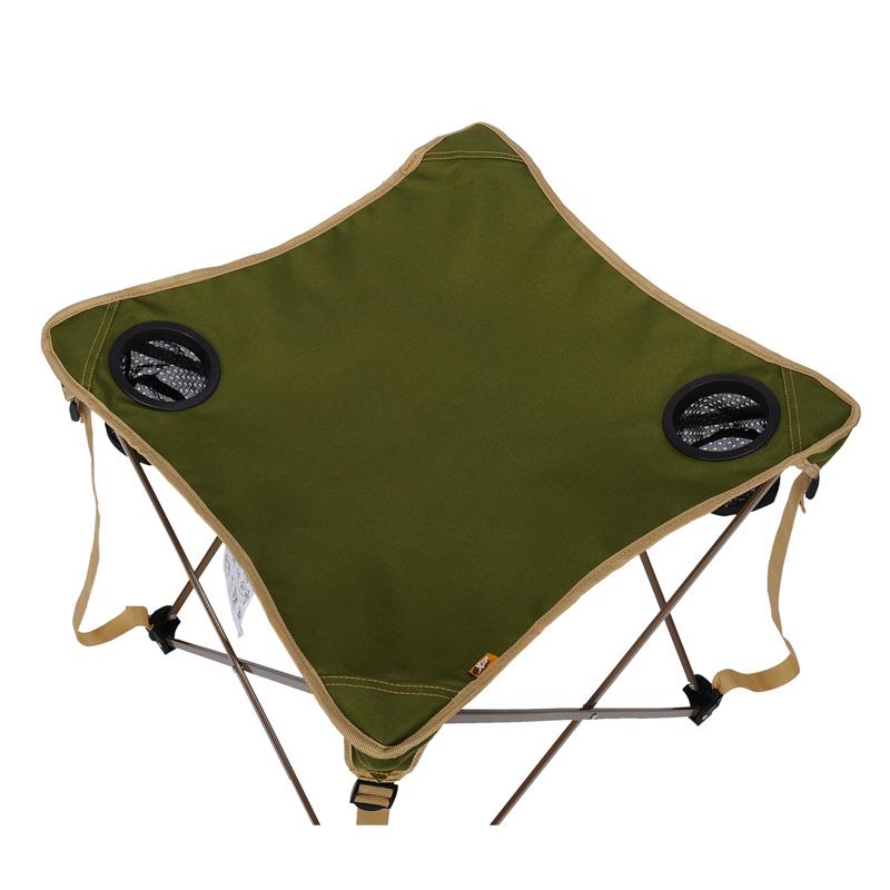 特步 户外折叠桌 便携式烧烤露营桌 自驾游野餐桌 帐篷户外餐桌985137Z69040