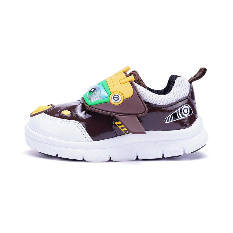 特步 专柜款 男童健康鞋春季款 舒适柔软可爱宝宝小童鞋682115612767