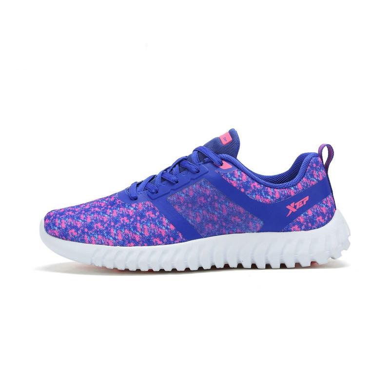 特步 女子夏季跑鞋  新品柔立方科技 舒适缓震耐磨轻便女鞋983218116022