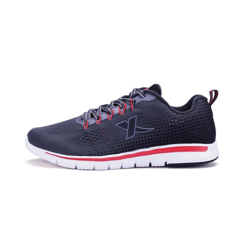 特步 男子春季综训鞋 网面透气耐磨运动鞋982119529011
