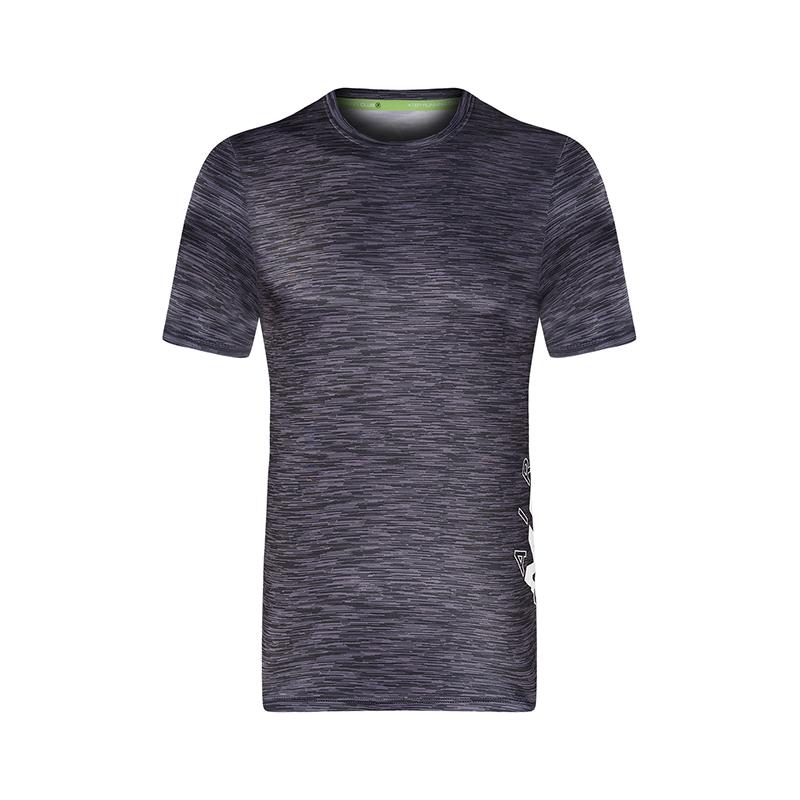 特步 专柜款 男子短袖T恤薄款透气2018夏季新款舒适轻便运动针织衫 982229012260