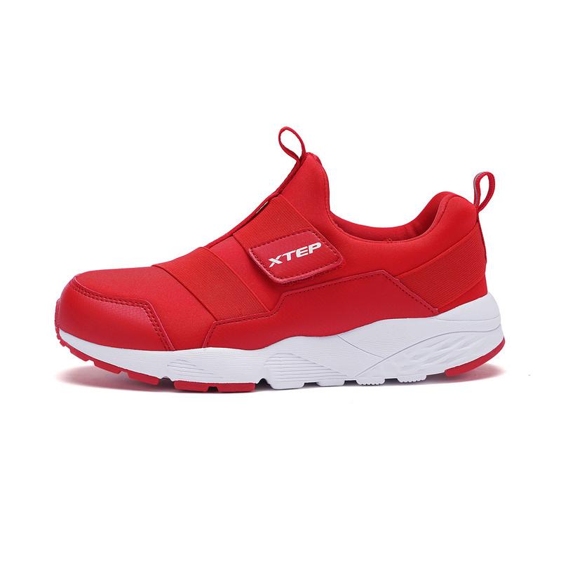 特步 专柜款 男童休闲鞋 潮流舒适鞋子682115325252