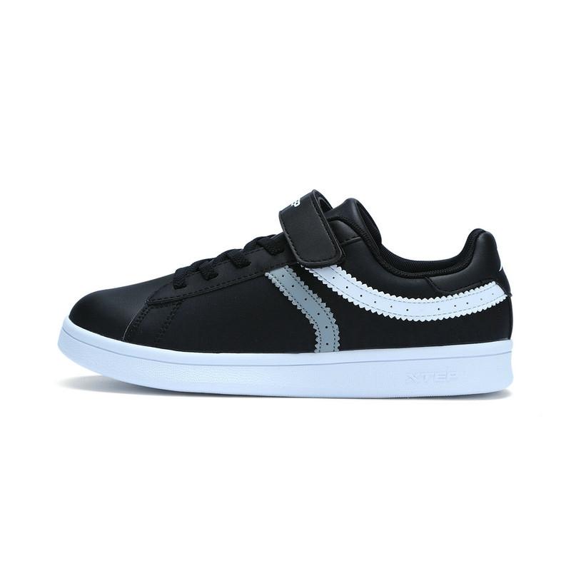 特步 专柜 男童秋季板鞋 17新品π系列 大童学生滑板鞋683315315288