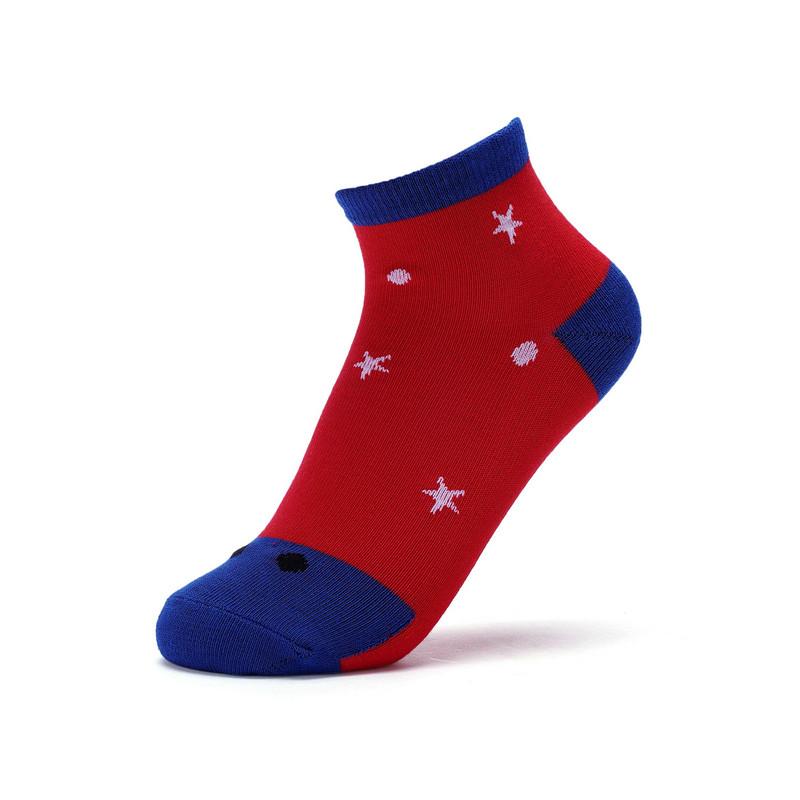 特步 男童中袜 舒适柔软平板中童袜【特殊商品不支持退换货】682135559094