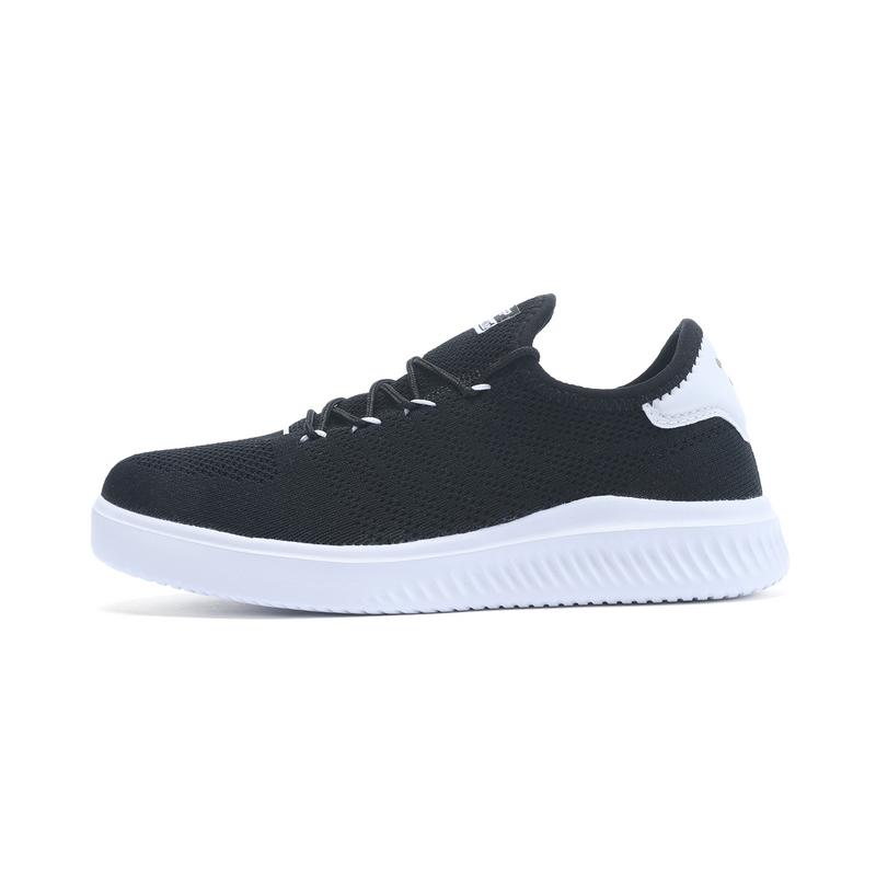 特步 专柜款 女子板鞋 网面一脚蹬女鞋982218315962