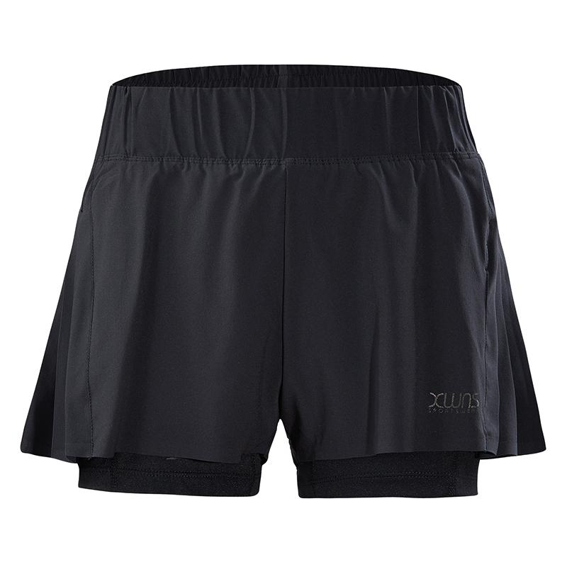 特步 专柜款 女梭织短裤夏季新款轻薄透气舒适时尚女运动短裤 982228240092