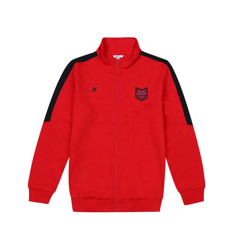 特步 专柜款 男童秋季针织上衣  舒适童装外套683325064011