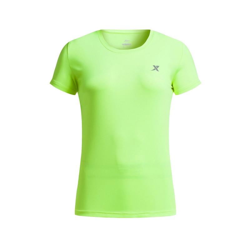 特步 女短袖针织衫 夏季新款 透气舒适简约女上衣883228019082