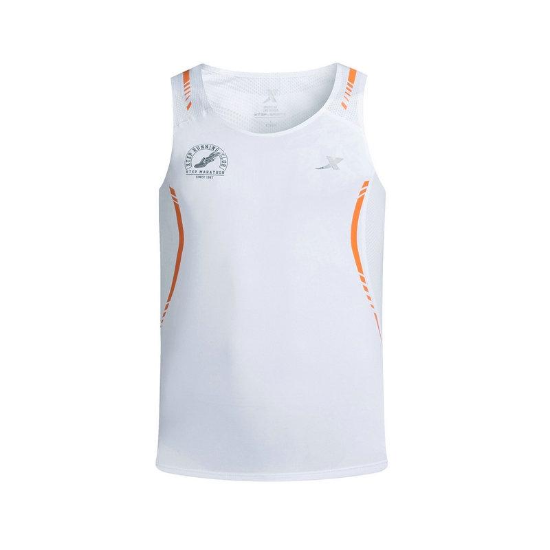 特步 专柜款 男子夏季跑步背心  马拉松跑步运动背心983229090062