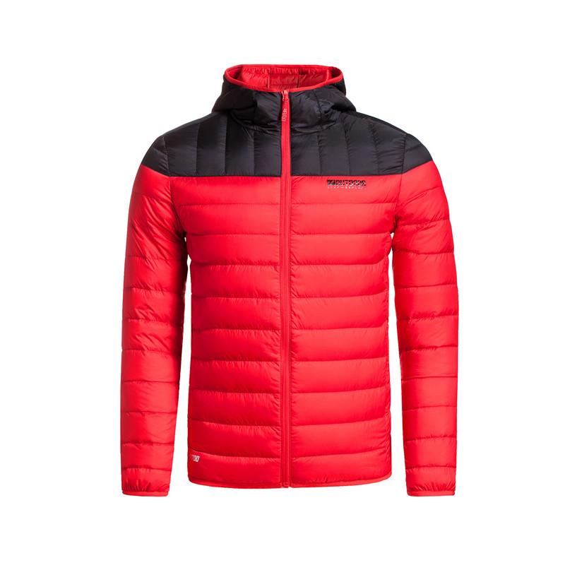 特步 专柜款   男羽绒服冬季新品 简约百搭保暖男外套984429190507