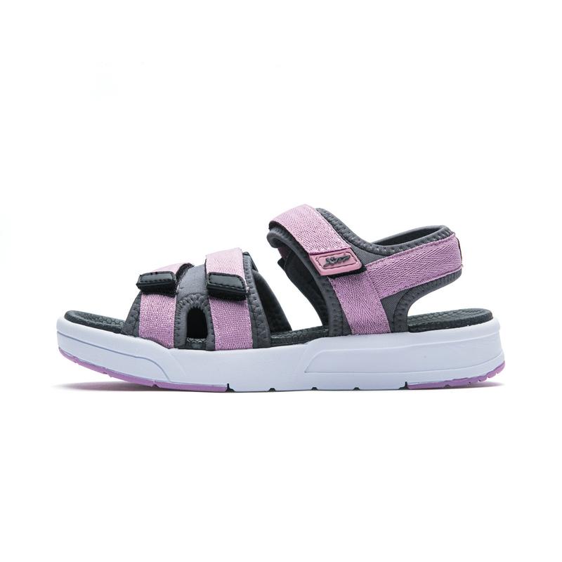 特步 女子凉鞋 舒适休闲户外拖鞋982218171533