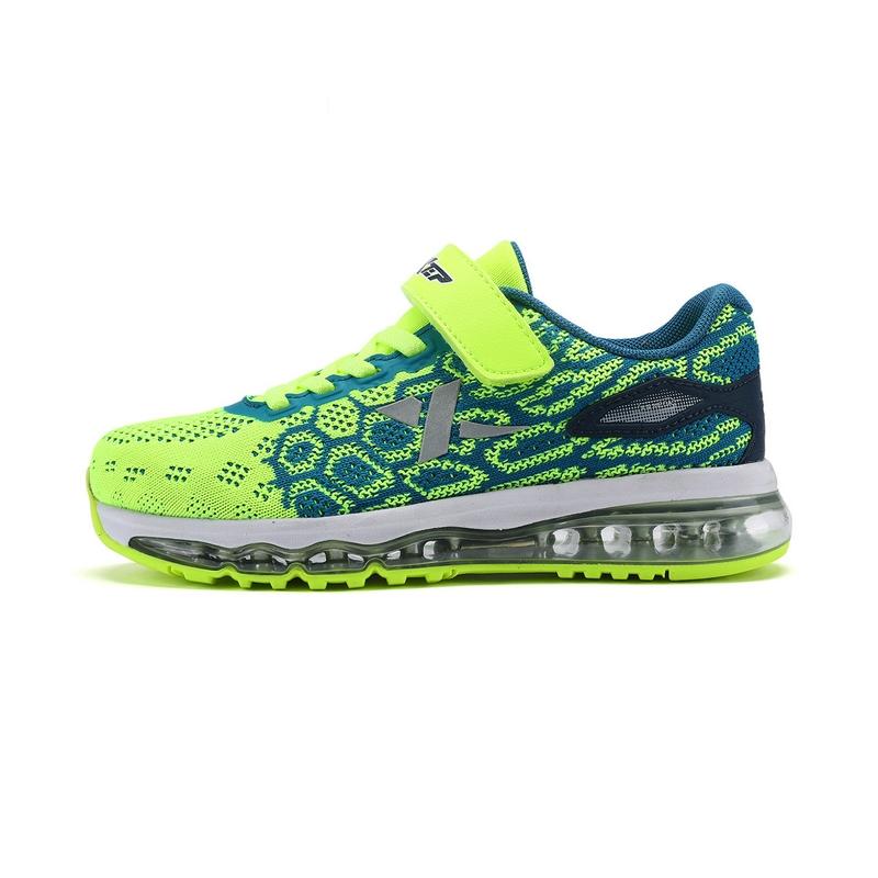 特步 男童夏季跑鞋  飞织气垫男童运动鞋983215119177
