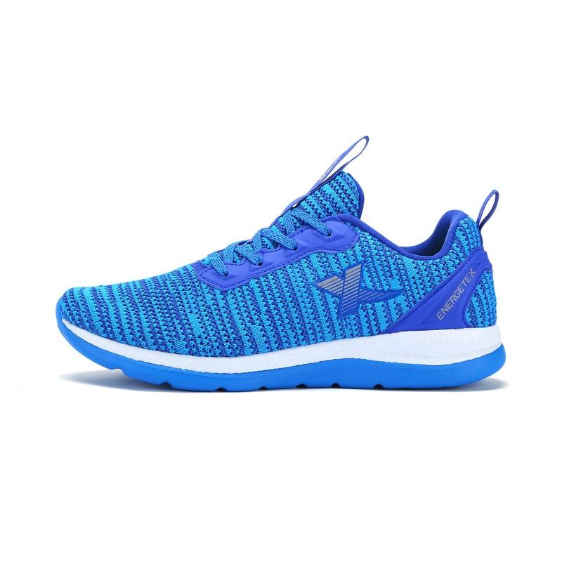 特步 专柜款 男子夏季跑鞋  新品飞线针织轻便 聚能弹科技男鞋983219116275