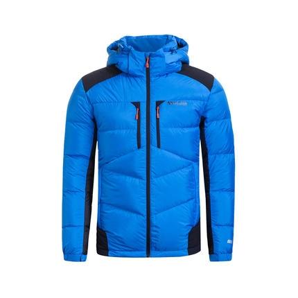 特步 专柜款   冬季男子羽绒服 新品连帽保暖棉服时尚运动百搭男子外套984429190474