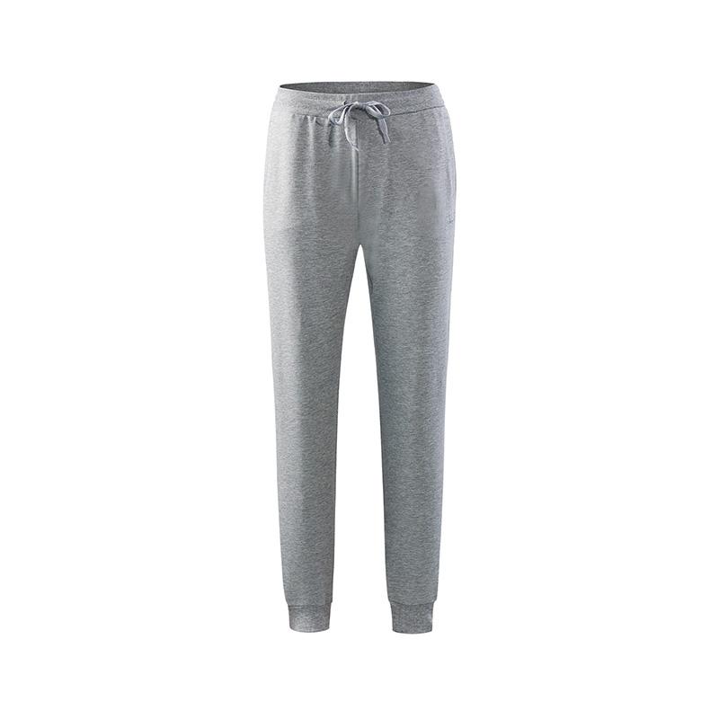 特步 专柜款 女子夏季针织长裤 18年新品综训健身长裤982228631417