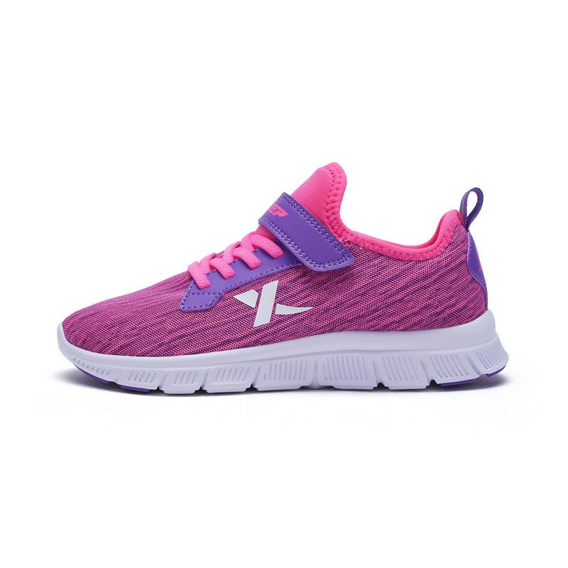特步 女童春季跑鞋 舒适大童学生运动鞋682114119975