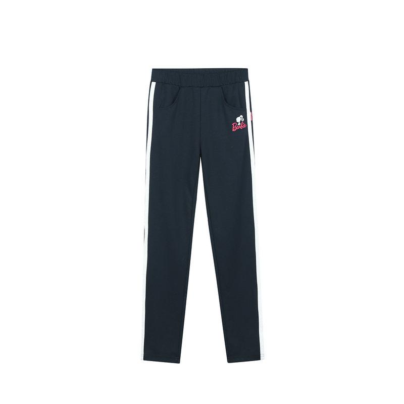 特步  女童针织长裤 专柜都市系列舒适裤子682124634039