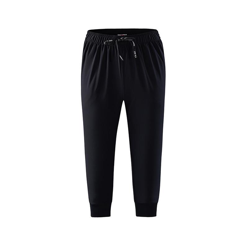 特步 专柜款 女子梭织七分裤 跑步运动裤982228800034