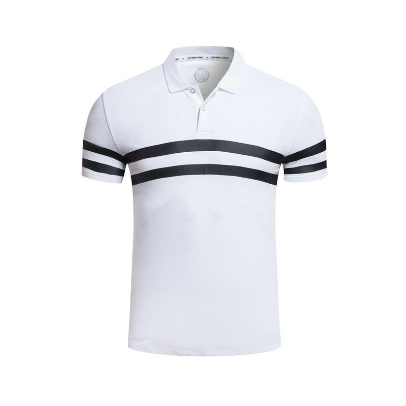 特步 专柜款 男子夏季POLO衫 新品休闲简约 男子短袖T恤983229020985