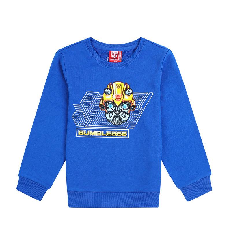 【变形金刚】特步 专柜 男童秋季卫衣 17新品变形金刚任务卫衣 大童卫衣683325054149