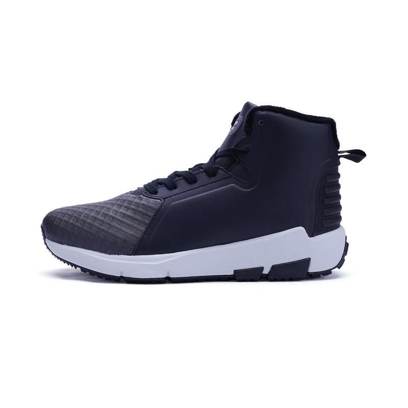 【棉鞋减30】特步 专柜款 男子棉鞋  休闲保暖舒适鞋子983419371000