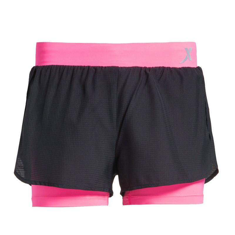 特步 专柜款 女子跑步短裤 运动舒适女短裤983228240036