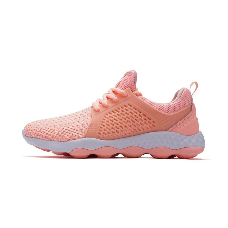 特步 女子跑鞋 2019夏季新款减震运动鞋飞织网面鞋子透气跑鞋982118119095