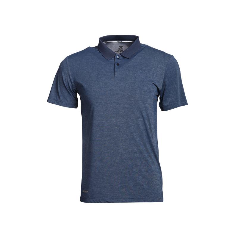 特步 专柜款 男子短袖T恤 冰释科技短袖POLO衫982229021062