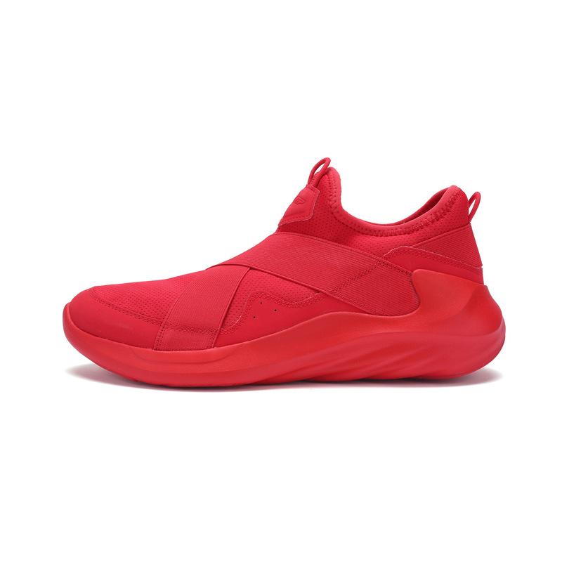 特步 专柜款 男子春季篮球鞋 一脚蹬男鞋982119121115