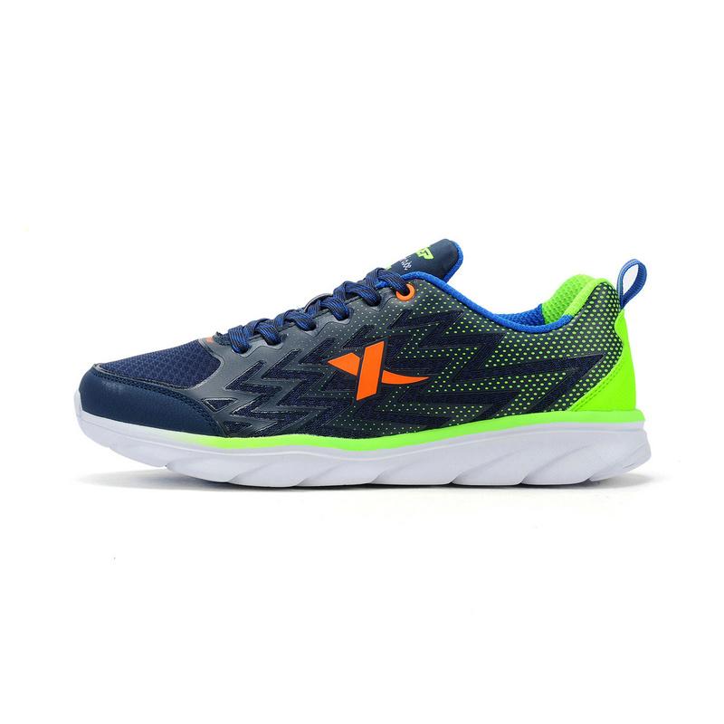 特步 专柜款  柔立方科技男跑鞋  轻便透气舒适时尚跑鞋984319115966