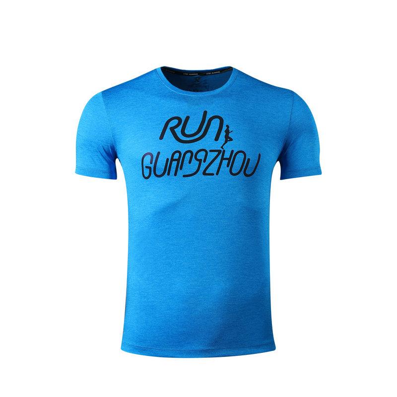 特步 专柜 男女跑步T恤 广州马拉松特别款983429012298