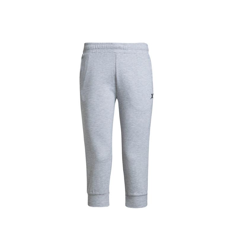 特步 专柜款 女子夏季七分裤  新品针织运动休闲短裤女子运动裤983228620225