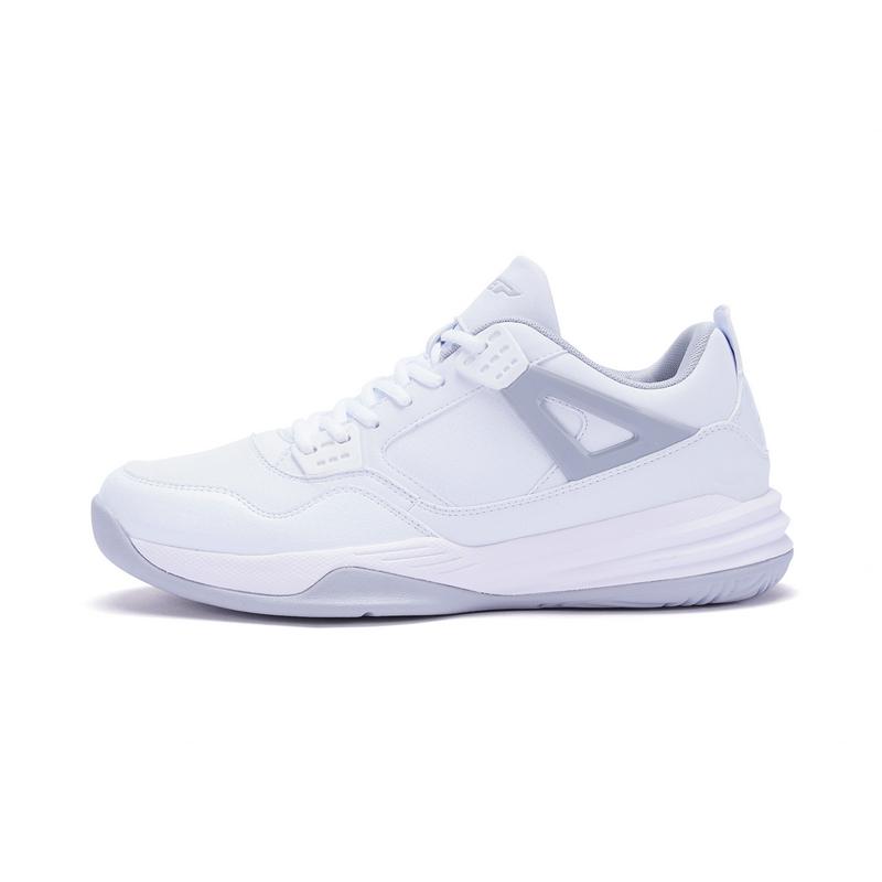特步 男子篮球鞋 秋冬新款系带中帮舒适耐磨运动鞋983419129298