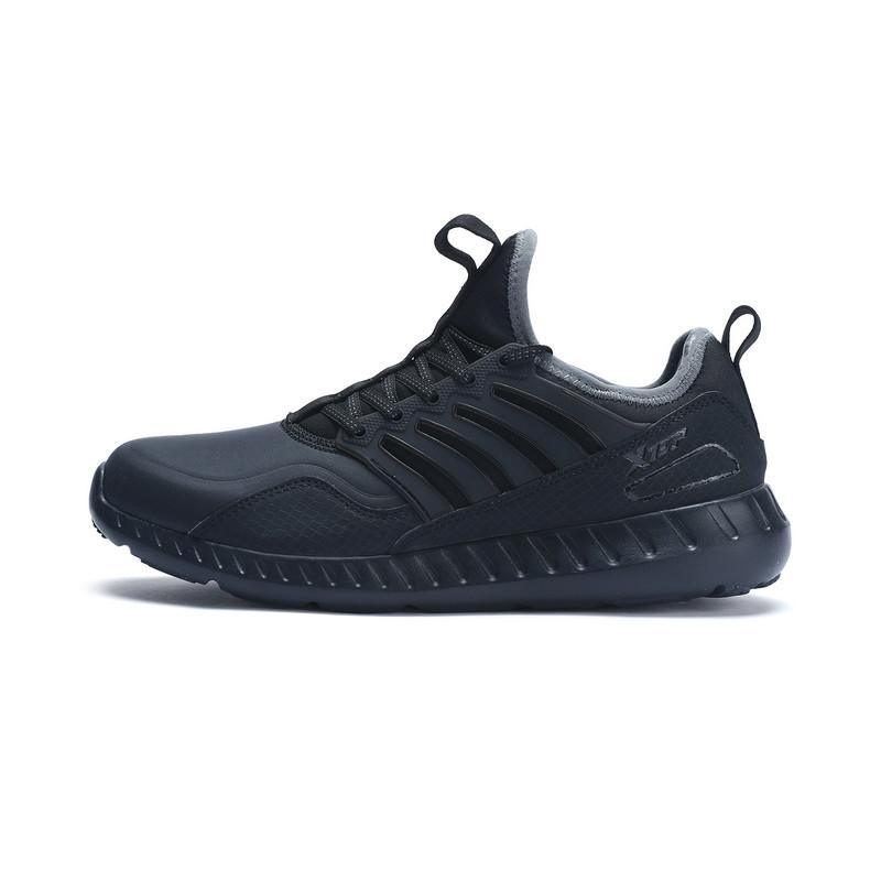 特步 专柜款 男子冬季综训鞋一脚蹬运动鞋983419520378