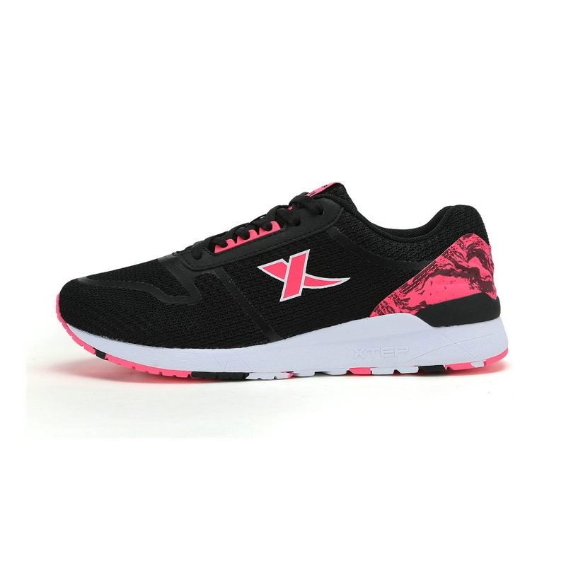 特步 专柜款 女子春季休闲鞋 网面透气舒适 女子运动鞋983118325920