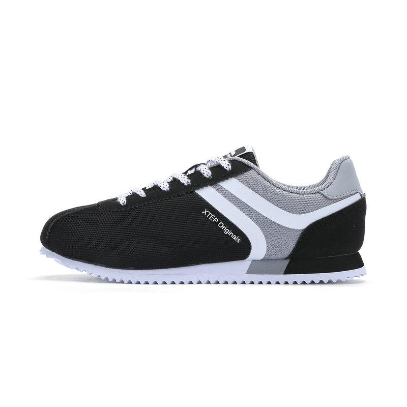 特步 专柜款 女子夏季休闲鞋 简约阿甘鞋983218326131
