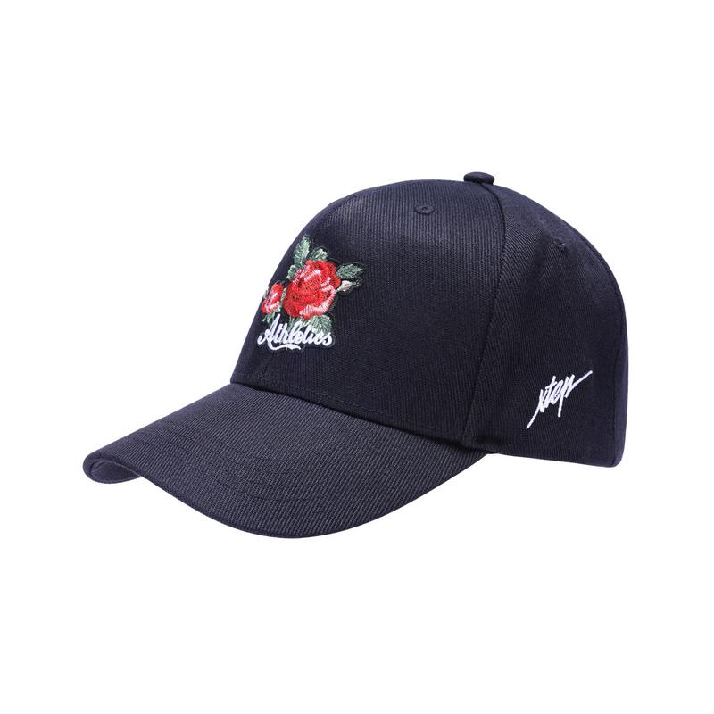 特步 男女运动帽 刺绣鸭舌帽882237219010